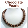 Chocolate Colored Pearls