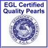 EGL Certified Quality Pearl Jewelry